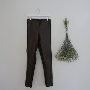 Pants - Faux Leather High Waist Pants